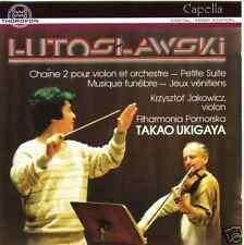 ██ WITOLD LUTOSLAWSKI (*1913) ║ Orchesterwerke ║ Filharmonia Pomorska