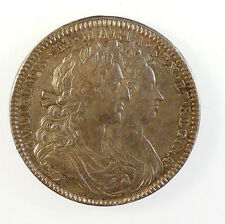 1689, England. OFFICIAL CORONATION MEDAL OF WILLIAM AND MARY.