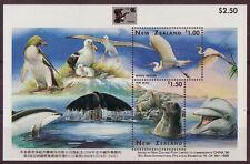 NOUVELLE-ZÉLANDE 1996 CHINE BLOC-FEUILLET NON MONTÉS EXCELLENT ÉTAT