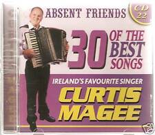 CURTIS MAGEE ABSENT FRIENDS CD 30 OF THE BEST SONGS