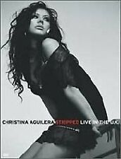 CHRISTINA AGUILERA Stripped Live In The U.K.  DVD