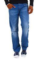Jeans Uomo Pantaloni CIPO & BAXX A681  Blu Gamba Dritta Tg 36 (50IT)