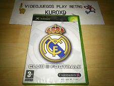 Pal version Microsoft Xbox Real Madrid club Football
