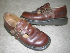 DR. MARTENS 8065 2 Buckle Strap Mary Janes Shoes Women's Sz 6 (Made in England)