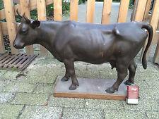 XXL Bronze/Kupfer Kuh/ L. 61 cm !!!/Höhe 47cm !!! um 1900