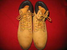 "TIMBERLAND, 6""-PREMIUM ALL WEATHER BOOTS, SIZE: 12, COLOR:WHEAT, USED, VALUE:$20"