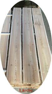 Baumscheibe, Holzscheibe -  Lärche  Bohle Brett Scheibe rötliches  Holz naturbel