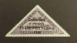 1932 ZEPPELIN SURCHARGE VF MNH PARAGUAY START $0.99