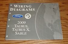 2009 Ford Taurus & Taurus X Mercury Sable Wiring Diagram EVTM Manual 09