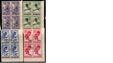 P.N.G 1964 Health Services Used Block of 4 Stamps Set (PNG57-60BKUSED)