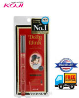 New Japan Koji Dolly Wink Waterproof Liquid Eyeliner Super Black 0.1mm-US Seller