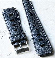 Great deal for 2 thick 19mm Tropic band type straps for big vintage dive watch