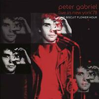 PETER GABRIEL-LIVE IN NEW YORK '78 KING BISCUIT FLOWER HOUR-IMPORT 2 CD
