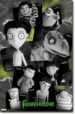 Frankenweenie Characters Collage Movie Poster Art Print 22x34 T5697