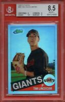 2007 eTopps #26 Tim Lincecum BGS 8.5 ROOKIE RC San Francisco Giants # 755/799