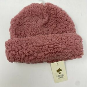 Tucker And Tate Nordstrom Faux Fur Beanie Hat Girls OS Pink