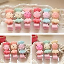 5Pcs lot cute resin candy Kids Girls Baby Hair Clips hairpins Hair Accessories