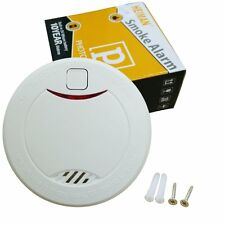 Smoke Fire Alarm Detectors Independent 10 year lifetime built in lithium battery