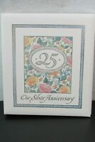 HALLMARK 25th Wedding ANNIVERSARY Memory Keepsake Album Book Vintage