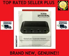 NINTENDO Super Smash Bros Ultimate GameCube Controller Adapter Switch Official