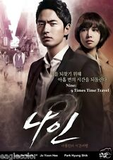 Nine: 9 Times Time Travel Korean Drama (4DVDs) Excellent English & Quality!