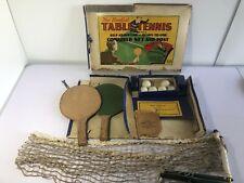 Vintage 1950's Table Tennis Set