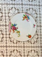 3 Jyoto China 6 1/2 in plates Japan pink floral