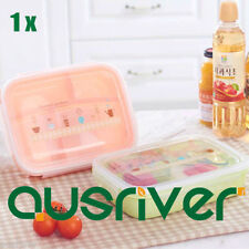 Kids Kitchen Plastic Lunch Bento Boxes Bags