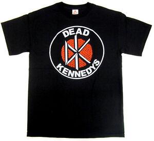 DEAD KENNEDYS T-shirt Vintage DK Brick Logo Punk Rock Tee Adult S-3XL New