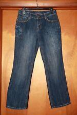 Baccini Ladies Petite size 6P Embellished Stretch Denim Jeans stock#3333