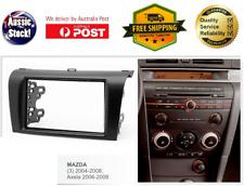 Fascia facia Mazda 3 2004-2008 BK Double Two 2 DIN Dash Kit