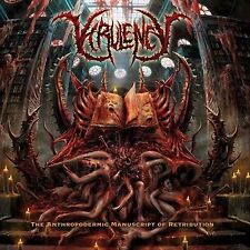VIRULENCY - The Anthropodermic Manuscript of Retribution Abominable Putridity