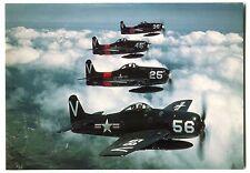 Grumman F8F-1 Bearcat US Navy Marines Fighter Bomber Airplane Aircraft Postcard