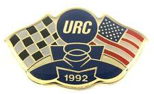 1992 U.R.C. / A.P.B.A. SEASON PASS tack pin pinback Hydroplane Boat b1