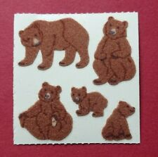 Stickeralbum Sticker Sandylion Vintage 90er Jahre Stoff Fuzzy Bären