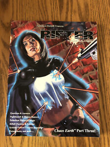 Palladium Books THE RIFTER #19 Megaverse Role Playing RPG Book 2002 Chaos Earth