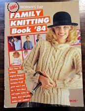 Women's Day, BIG FAMILY KNITTING BOOK '84, 70+ Patterns, Ladies, Men, Children