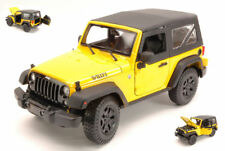 Jeep Wrangler 2014 Yellow 1:18 Model MAISTO