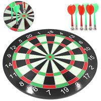 15'' Magnetic DartBoard 6 Darts Party Fun Game Set Gift Safety Dart Board Kids