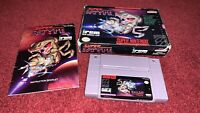 Super R-Type CIB COMPLETE IN BOX & TESTED SNES Super Nintendo VGC! READ PLEASE!