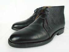 Shipton & Heneage by Alfred Sargent Black Grain Leather Dainite Chukka Boot 7.5