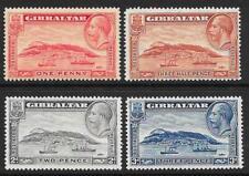 Gibraltar 1931-33 Perf. 14 Set (Mint)