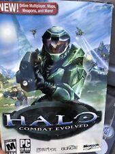 Halo: Combat Evolved (PC, 2003) CD-ROM Box Bungie Microsoft Gearbox