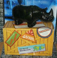 Rhinoceros After Shave Decanter Bottle Vintage Avon