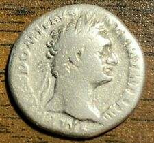 ANCIENT ROMAN SILVER COIN OF DOMITIAN
