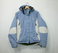 VTG The North Face Ladies Isolated Hyvent ski Jacket Light blue White Size S