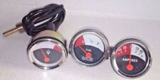 JOHN DEERE TRACTOR TEMP, FUEL, AMP GAUGE SET 1010 2010
