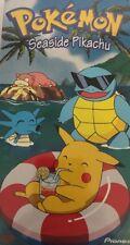 Pokemon-Seaside Pikachu VHS PIKA-0006DC 1998-RARE VINTAGE COLLECTIBLE-SHIP N 24H
