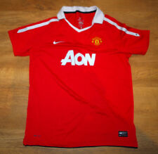 Nike Manchester United 2010/2011 home shirt (Size XLB/S)