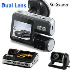 FHD 1080P Dual Lens Car Camera IR Dash DVR Video Recorder Crash Cam G-sensor